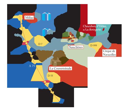 La Rougerie - Larzac, Causses et Cévennes